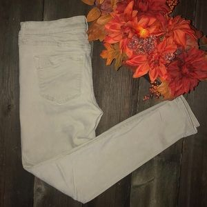 Express Mid-rise Khaki Stretch Jean